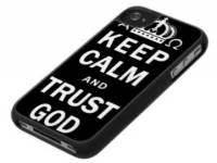 Keep Calm And Trust God Iphone Case